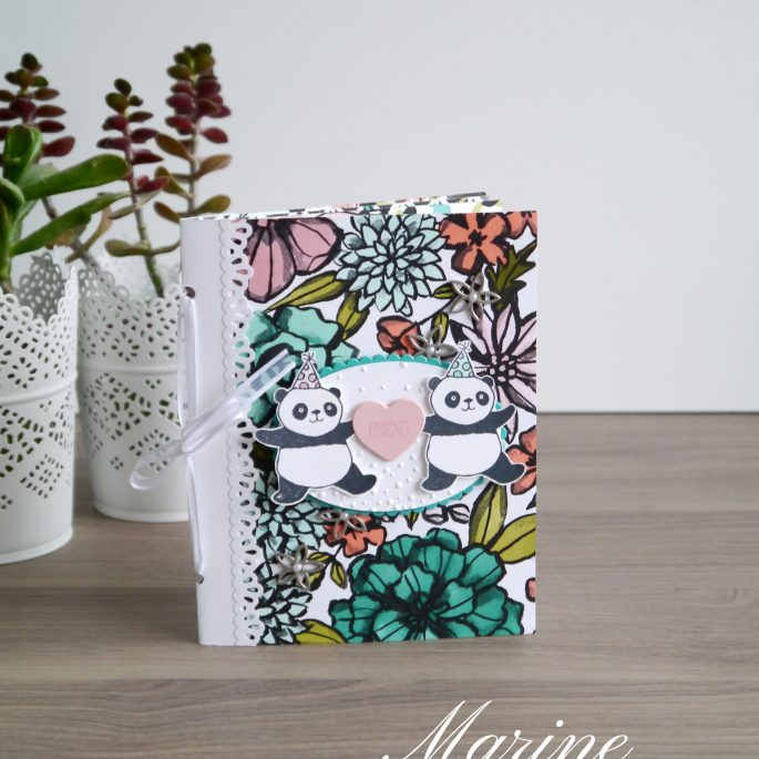 StampinUp – Marine Wiplier – Mini Album Snap