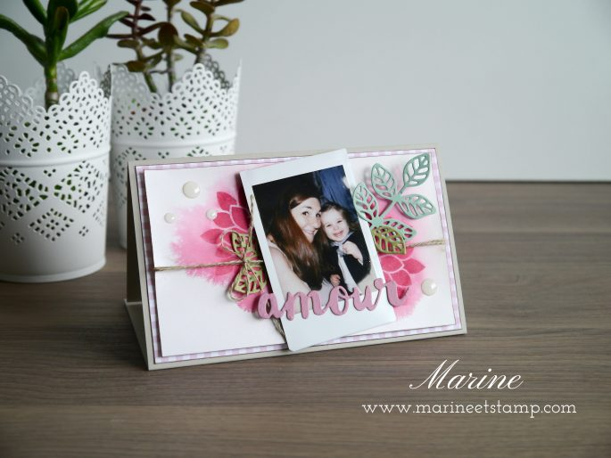 StampinUp – Marine Wiplier – Totally Techniques – Watercolor Spritz
